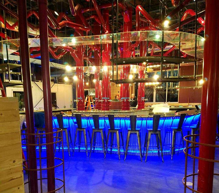 The bar at Mellow Mushroom, Toms River. (Photo: Mellow Mushroom)