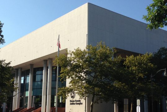 The Ocean County Justice Complex, Toms River, N.J. (Photo: Daniel Nee)