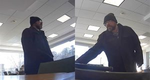 The suspect in the Dec. 21, 2016 robbery of a TD Bank branch in Toms River. (Photo: TRPD)