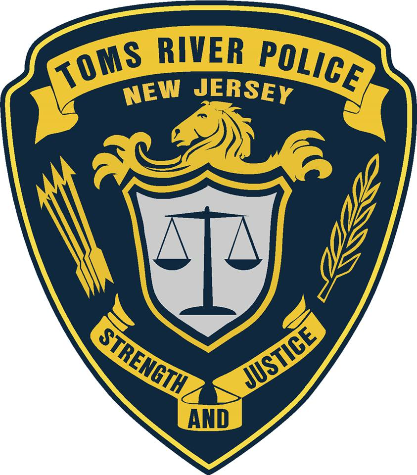 Toms River Police (TRPD) Shield (File Photo)