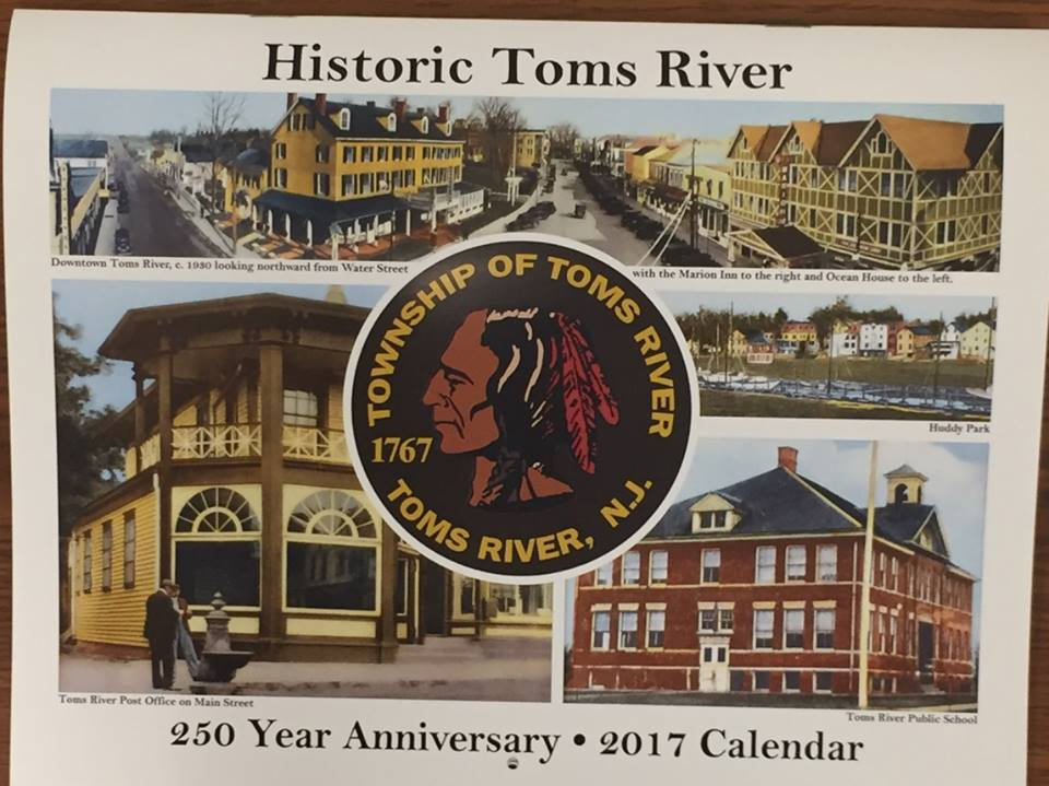 Toms River Historic Calendar (File Photo)