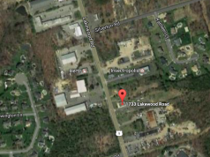The site of a proposed mosque and religious school in Toms River. (Credit: Google Maps)