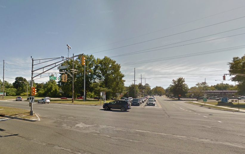 The intersection of routes 37 and 166 in Toms River. (Credit: Google Maps)