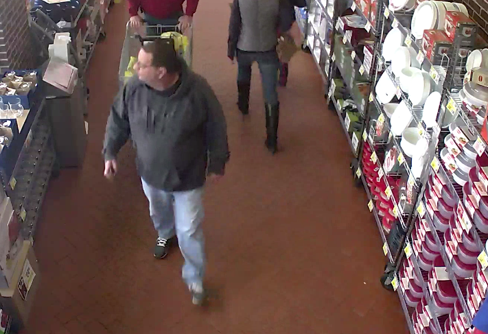 The suspect in a theft from a customer at the Toms River Shop-Rite store on Route 37. (Photo: TRPD)
