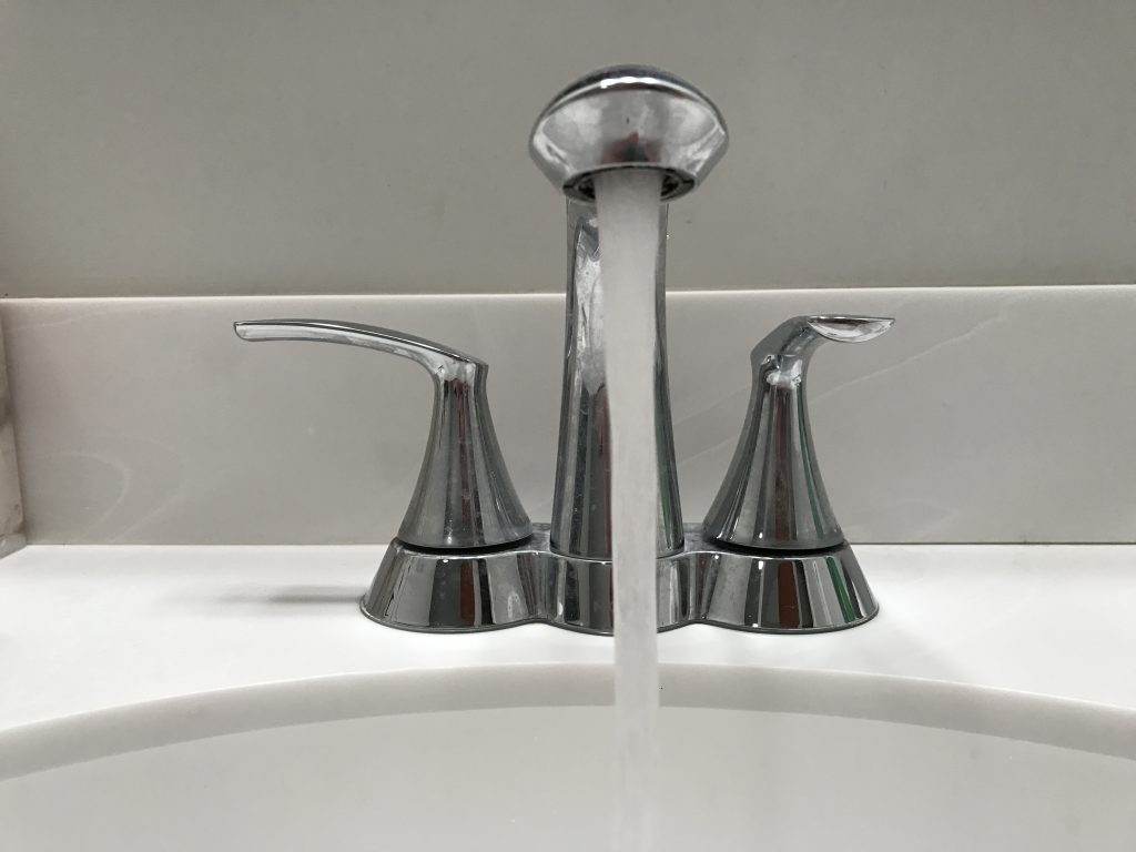 A water faucet. (Photo: Daniel Nee)