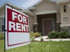 For rent sign. (File Photo)
