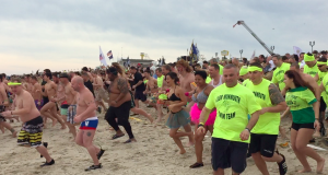 Participants in the 2016 Seaside Heights Polar Plunge. (Photo: Daniel Nee)