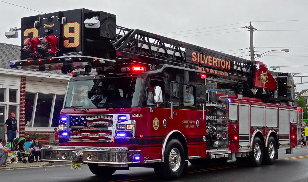 A Silverton Fire Company truck. (Credit: Aaron Mott/Flickr)