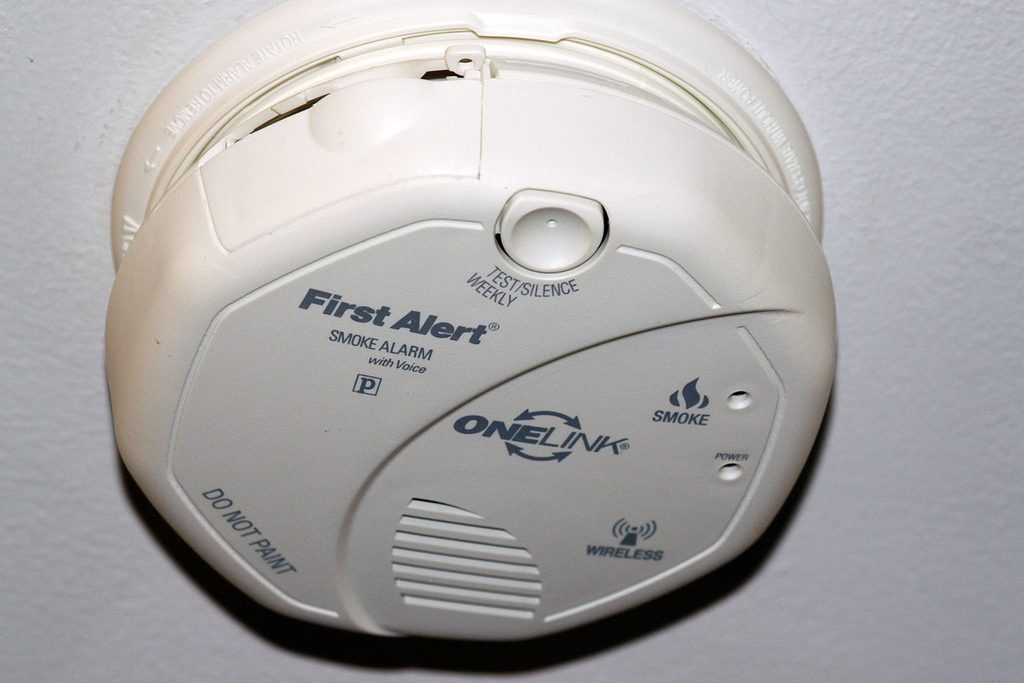 Smoke Detector (Credit: Jenn Durfey/Flickr/File Photo)
