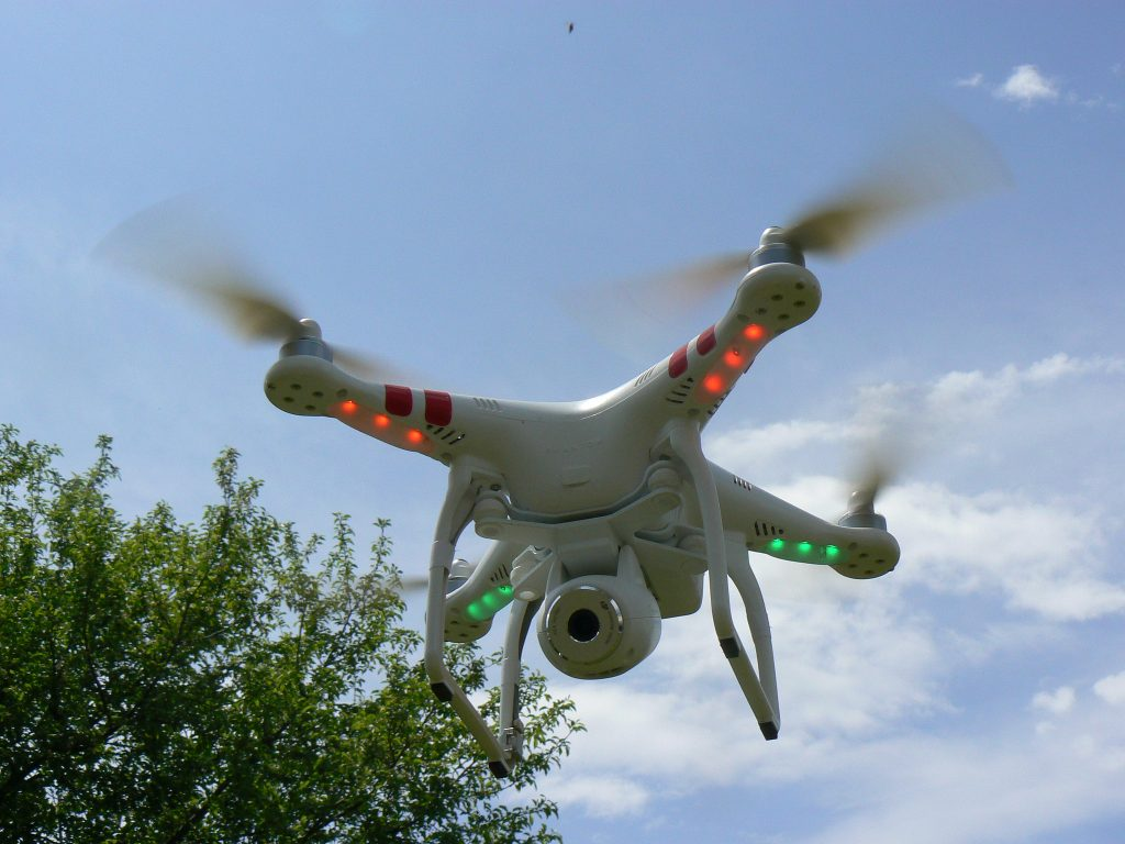 A drone. (Photo: Peter Linehan/ Flickr)