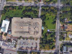 The new location of the Toms River Farmers' Market. (Credit: Google Maps)