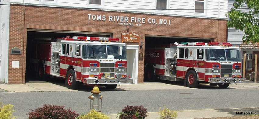 Toms River Fire Company 1 (File Photo)