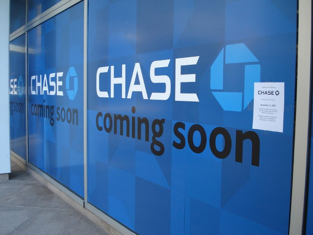 Chase Bank (Photo: Michael Lehet/Flickr)