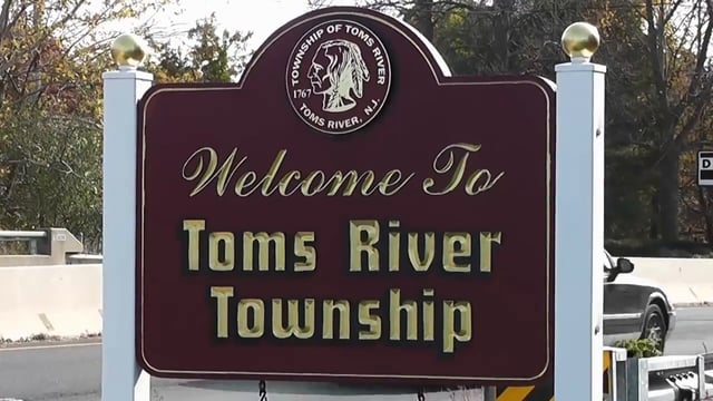 Welcome to Toms River Township sign. (File Photo)