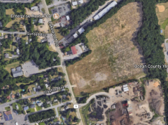 The site of a proposed 141 unit apartment complex in Toms River. (Credit: Google Maps)