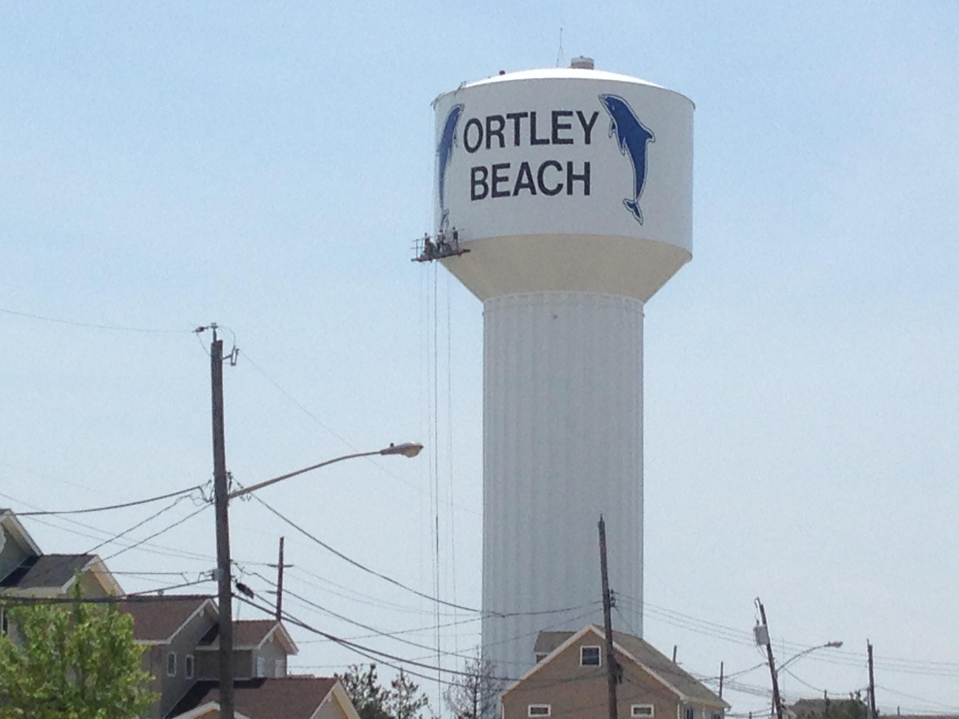 The Ortley Beach water tower. (Photo: Daniel Nee)