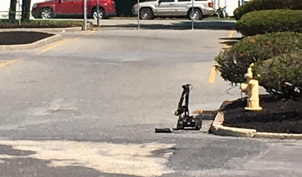 An object left off Route 37 in Toms River, Aug. 31, 2017. (Photo: TRPD)
