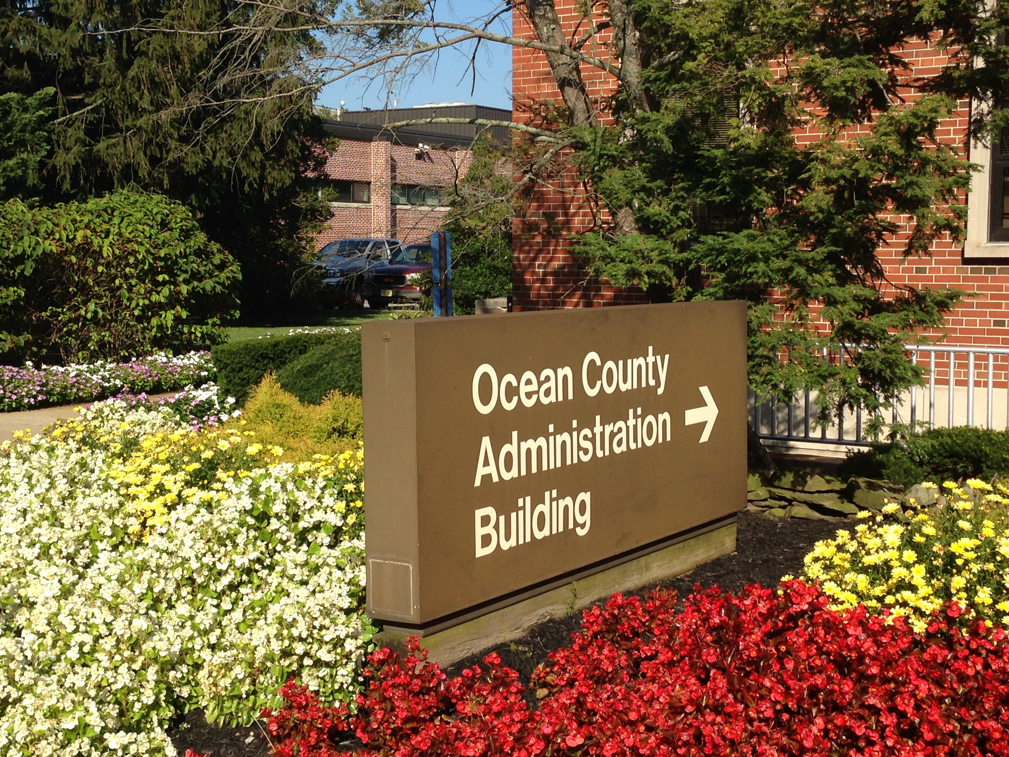 The Ocean County Administration Building, Toms River, N.J. (Photo: Daniel Nee)