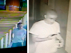 The man suspected of stealing from a church collection box. (Photo: TRPD)