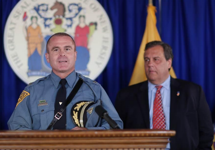 Patrick J. Callahan speaks after being appointed NJ State Police Superintendent by Gov. Chris Christie. (Photo: Governor's Office)