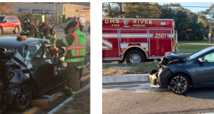 The scene of a serious accident near Route 37, Nov. 14, 2017, (Photo: TRPD)
