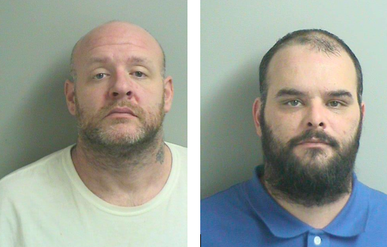 Jason Mayer (left) and Christian Wells. (Photos: TRPD)