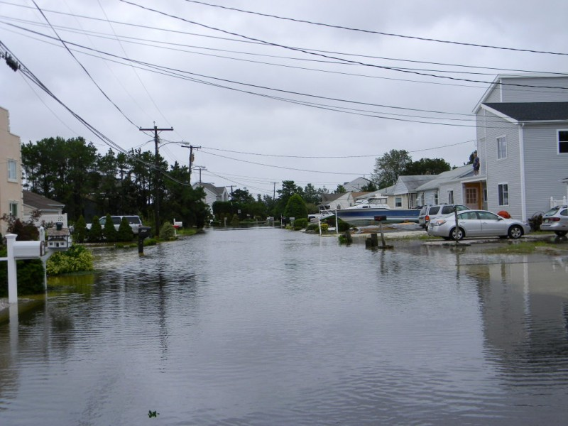 Flooding in Toms River. (File Photo)