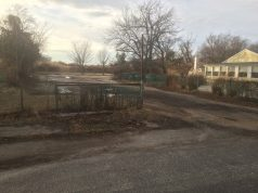 The site that may be converted into a municipal boat ramp in Toms River. (Photo: George Galesky)