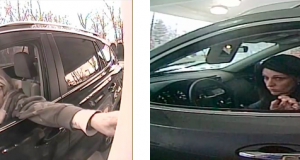 The suspect in a string of thefts, wearing different wigs. (Photo: TRPD)