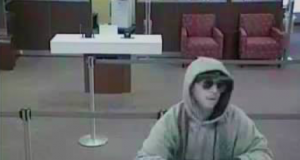 The suspect in the Feb. 12, 2018 robbery of a Wells Fargo bank in Toms River. (Photo: TRPD)