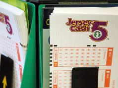 Jersey Cash 5 Lottery ticket. (Photo: NJ Lottery)