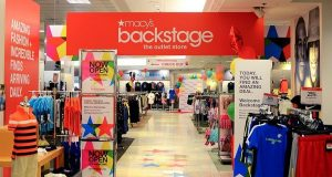 A Macy's Backstage store in Atlanta. (Credit: Macy's)