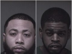 """Sevon Hill, 24, of Toms River and Shakar Barksdale, a.k.a. """"Anthony"""" Barksdale. (Photo: Ocean County Jail)"""