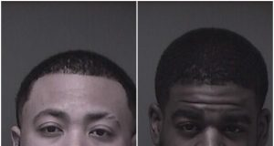 "Sevon Hill, 24, of Toms River and Shakar Barksdale, a.k.a. ""Anthony"" Barksdale. (Photo: Ocean County Jail)"