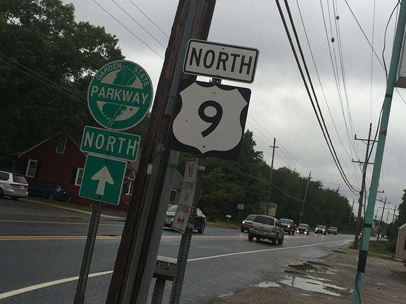 Route 9, Toms River, N.J. (Credit: Micromedia Publications/ Toms River Times)
