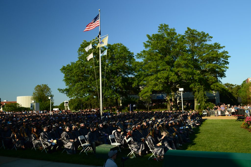 Ocean County College's 2018 commencement ceremony. (Photo: Daniel Nee)