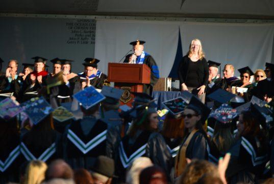 Ocean County College's 2018 commencement ceremony. (Photo: Daniel Nee)