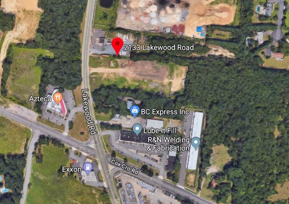2133 Lakewood Road (Credit: Google Maps)