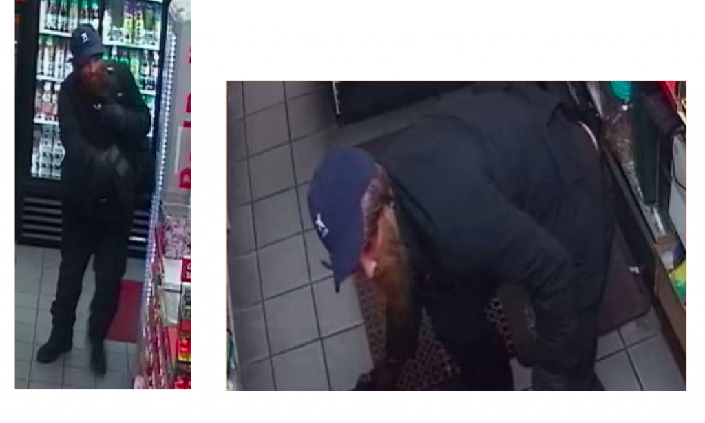 The suspect in an armed robbery in Toms River. (Photo: TRPD)