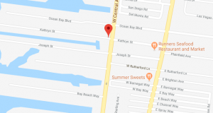 Kathryn and Joseph streets in the North Beach portion of Toms River. (Credit: Google Maps)