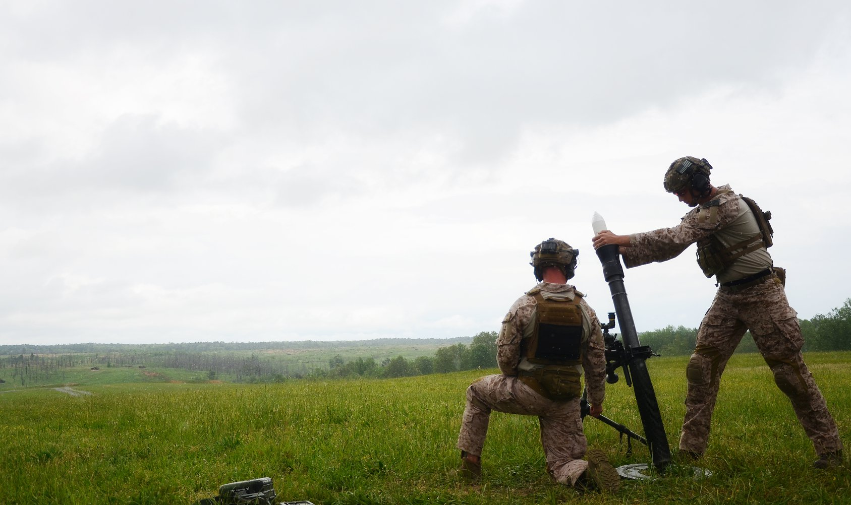 Troops at Joint Base MDL train. (Photo: Joint Base MDL)