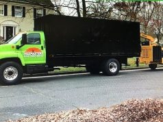 A commercial woodchipping truck that's missing in Ocean County. (Photo: TRPD)