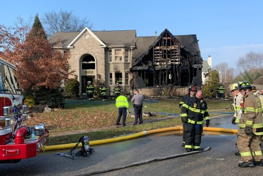The site of a house fire at Rolling Hills Court, Toms River, Dec. 13, 2018. (File Photo)