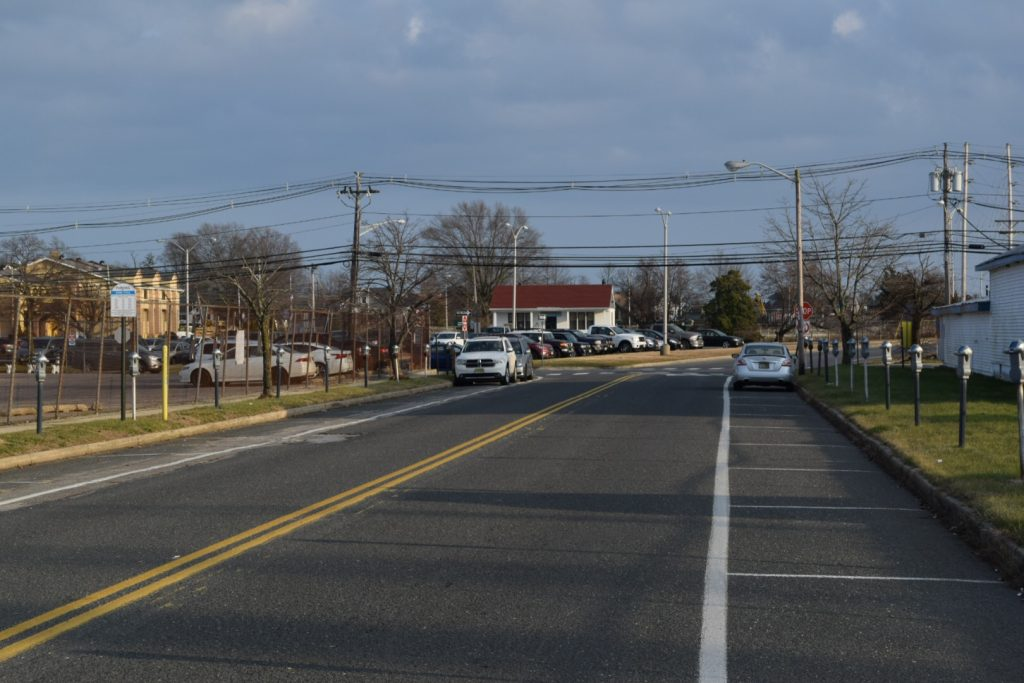 "Herflicker Boulevard, which will become part of a ""loop"" for downtown Toms River redevelopment. (Photo: Daniel Nee)"