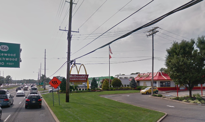 McDonald's, Toms River, NJ. (Credit: Google Maps)
