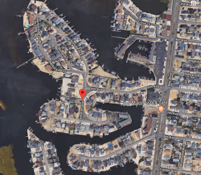 Sixth Terrace in Ortley Beach. (Credit: Google Maps)