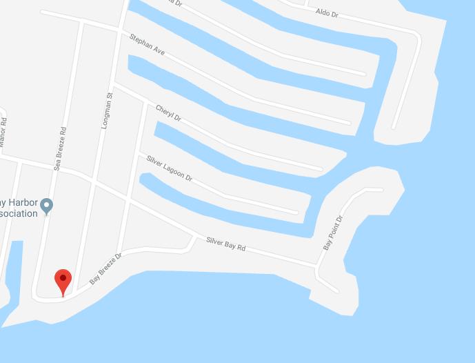 Bay Breeze Drive and Sea Breeze Road, Silverton, Toms River. (Credit: Google Maps)