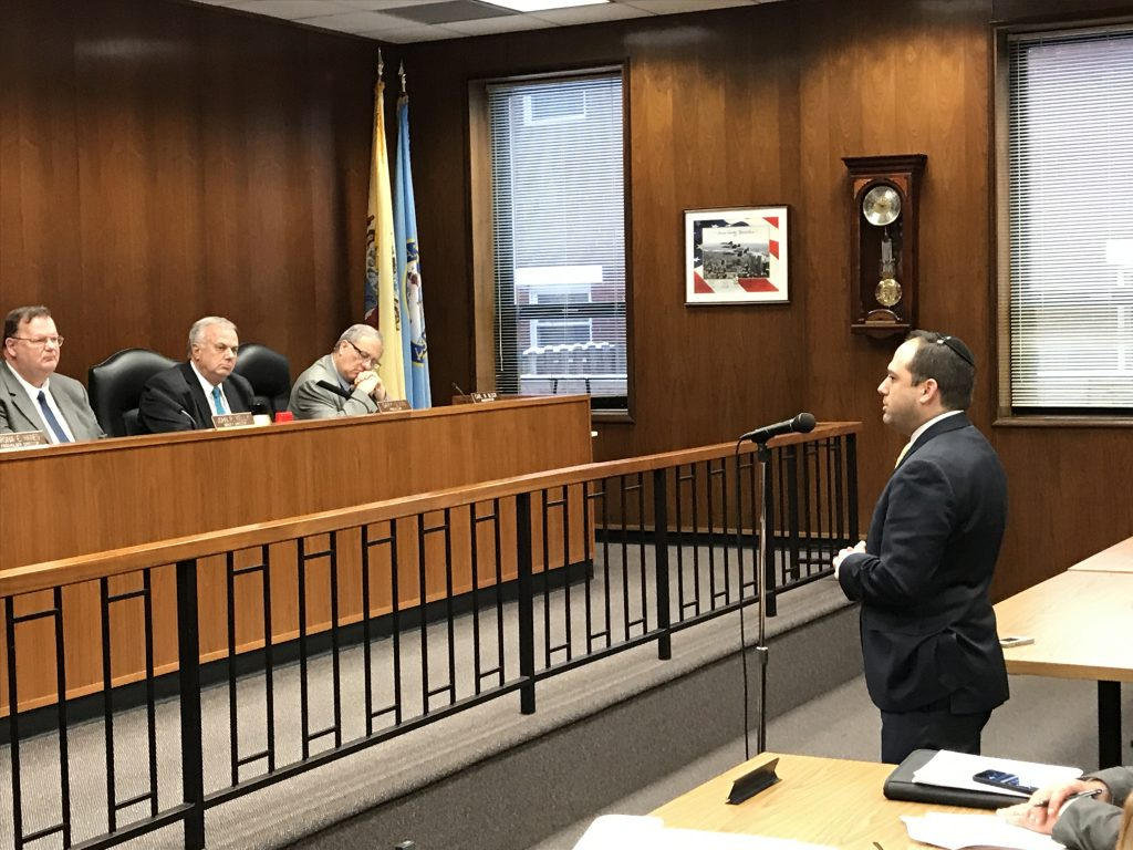 Michael Cohen addresses the Ocean County freeholder board, Feb. 20, 2019. (Photo: Daniel Nee)