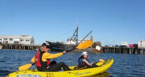 Kayak (Credit: Arnold de Leon/ Flickr)