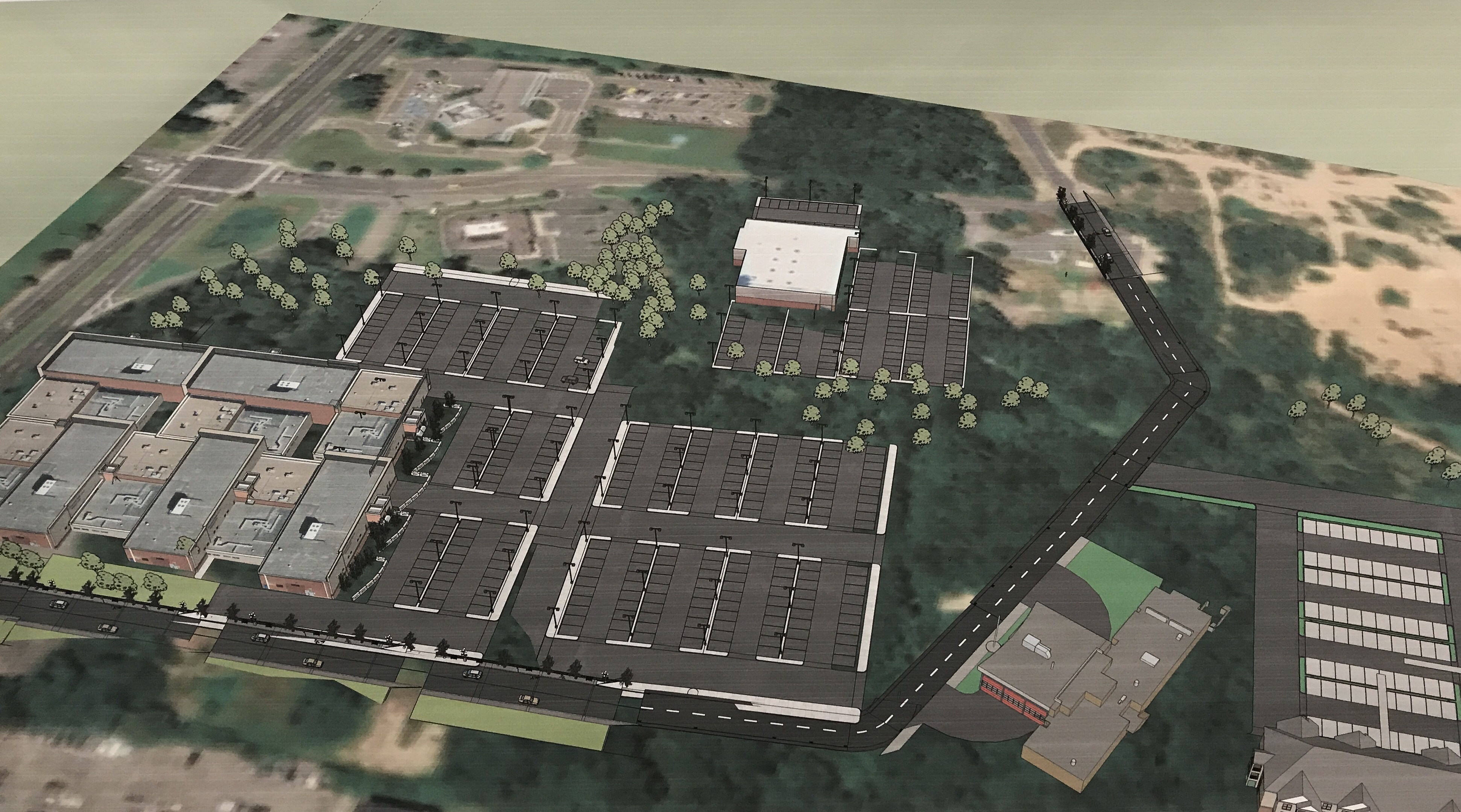 A planned 22-acre redevelopment plan in Toms River. (Photo: Daniel Nee)
